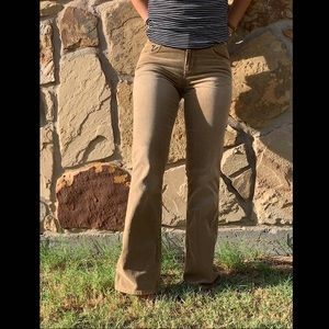 Corduroy Bell Bottom jeans